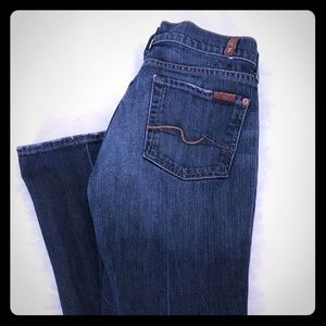 7 For All Mankind 27/31 Women's Boot Cut Jeans